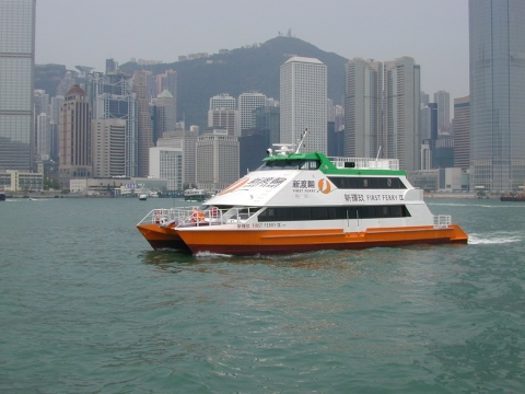 New World Services Limited sets up New World First Ferry Services Limited and purchases 14 ferry vessels, a depot at Cheung Sha Wan, together with the operation rights of eight ferry routes from The Hong Kong Ferry (Holdings) Company Limited and The Hongkong and Yaumatei Ferry Company Limited.
