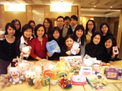 New World Group donates toys and shares love with Tung Chung children