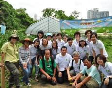 New World Group Green New World Volunteers Experiencing Organic Farming with People with Intellectual Disabilities