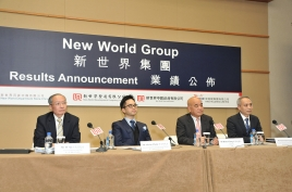 New World Group Announces 2013/2014 Interim Results