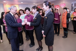 New World Group Sends Appreciation to Staff on International Women's Day